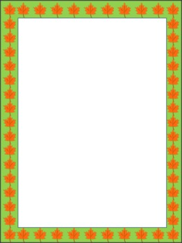 Fall Frames and Borders Pack