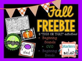 Fall Freebie!!