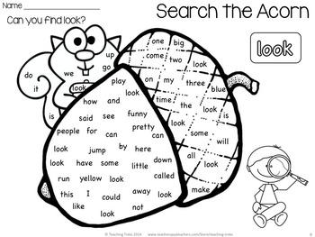 Fall Activities: Fall Math And Language Freebies