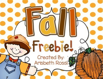 Fall Literacy Freebie
