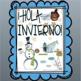 Winter Freebie * ¡Hola invierno! * Hello Winter!
