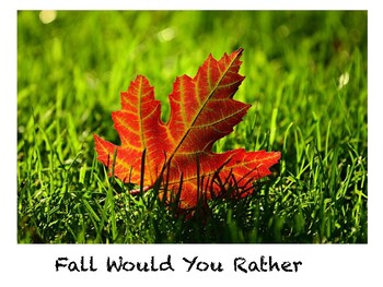 Fall Freebie Would You Rather