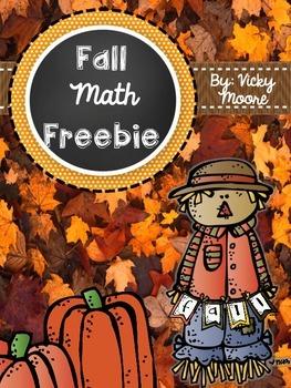 Fall Freebie { math }