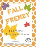 Fall Frenzy Articulation