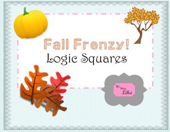 Fall Frenzy Logic Squares
