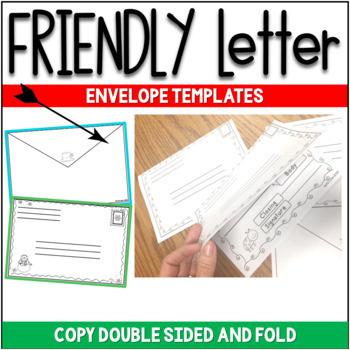 FRIENDLY LETTER TEMPLATES - WINTER VERSION