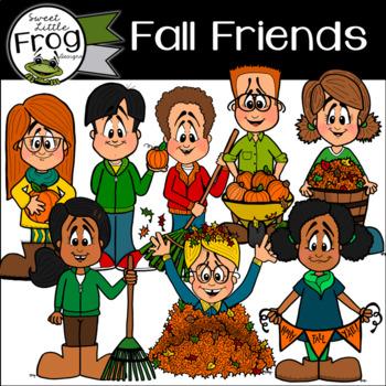 Fall Friends Clip Art