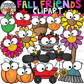 Fall Friends Clipart {Fall Clipart}