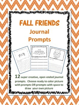 Fall Friends Journal Prompts