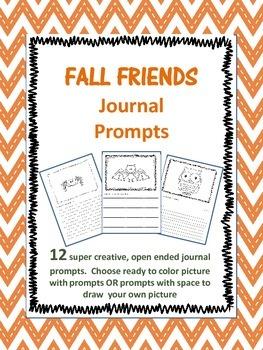 Fall Friends Journal Prompts