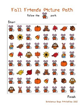 Fall Friends PreK Sampler