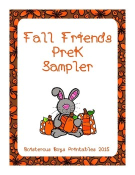 Fall Friends PreK Sampler