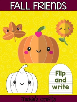 Fall Friends - Pumpkin Sunflower Leaf - Jackie's Craft Activity, Thanksgiving
