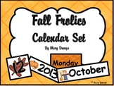 Fall Frolics Calendar Set