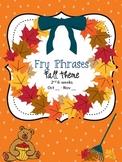 Fall Fry Phrases