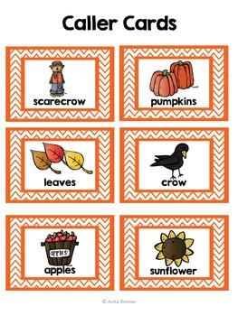 Fall Autumn Activities