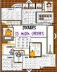 Fall Fun  - A Kindergarten Math and Language Arts Unit (Common Core Aligned)