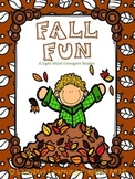 Fall Fun (A Sight Word Emergent Reader)