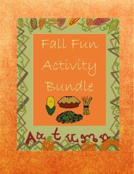 Fall Fun Activity Bundle