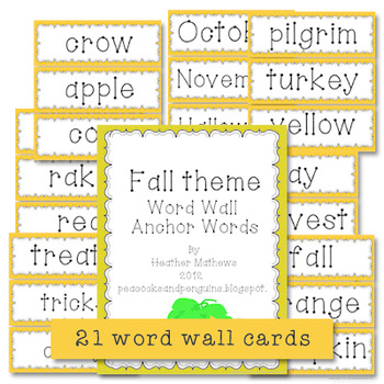 Fall Fun Activity Pack - poetry and writing