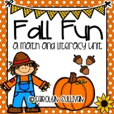 Fall Fun- Apples and Pumpkins! Aligned to Common Core