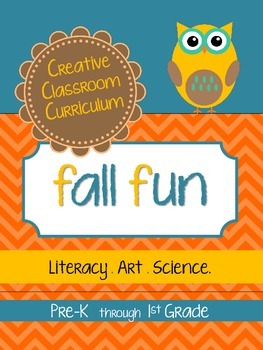 Fall Fun {Art.Literacy.Science}
