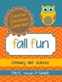 Fall Fun {Art.Literacy.Science}