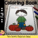 Color For Fun Fall Coloring Pages