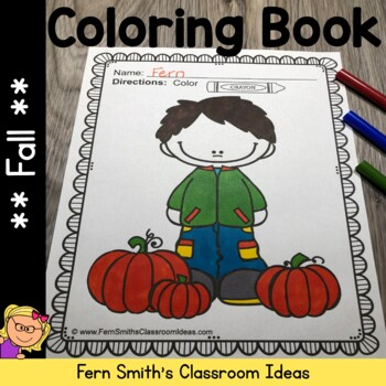 Coloring Pages for Fall