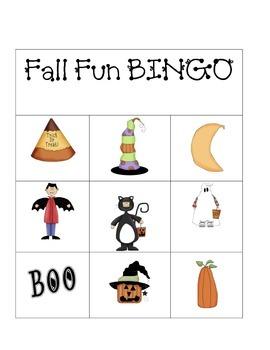 Fall Fun BINGO