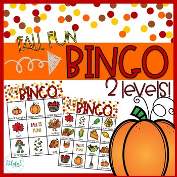 Fall Fun - BINGO - 2 levels!