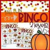 Fall Fun - BINGO - 2 levels!