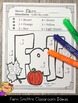Color By Numbers Fall Math Subtraction