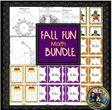 Halloween Math Activities and Games for First Grade