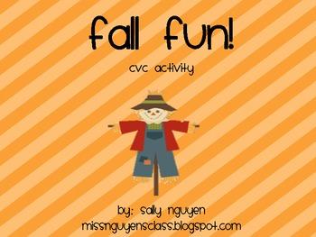 Fall Fun- CVC Activity
