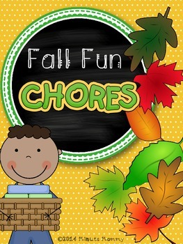 Fall Fun Chore Cards