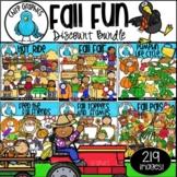 Fall Fun Clip Art Bundle - Chirp Graphics