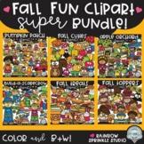 Fall Fun Clipart SUPER Bundle {$34 value!}