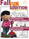 Fall Fun Color By Number Addition and More