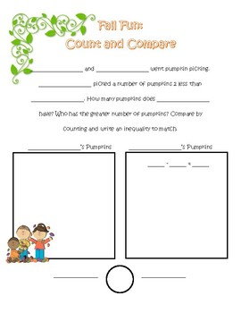 Fall Fun: Count and Compare