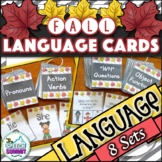 Fall Fun Decks: Language Concepts