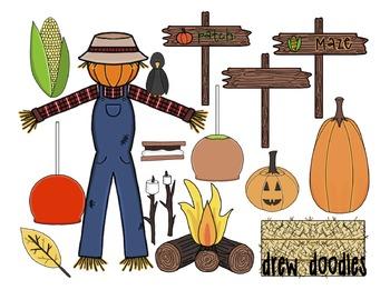 Fall Fun Digital Clip Art Set