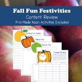 Fall Fun Festivities: Mini Room Transformation