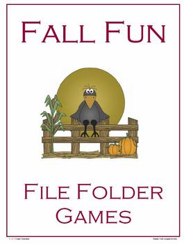 Fall Fun - File Folder Games