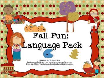 Fall Fun: Language Pack
