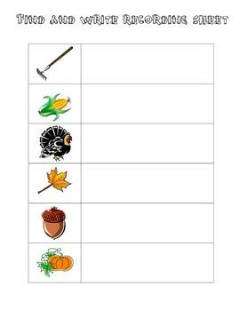 Fall Fun For First Grade!