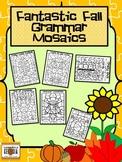 Fall Fun! Grammar Color By Part of Speech-Noun,Verb,Adject