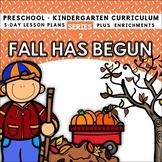Fall Fun Has Begun (5-day Thematic Unit)