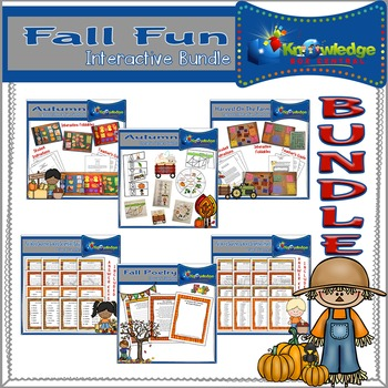 Fall Fun Interactive BUNDLE