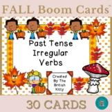 Fall Fun Irregular Past Tense Verbs Boom Cards™